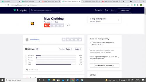 Mvp Leggings Review